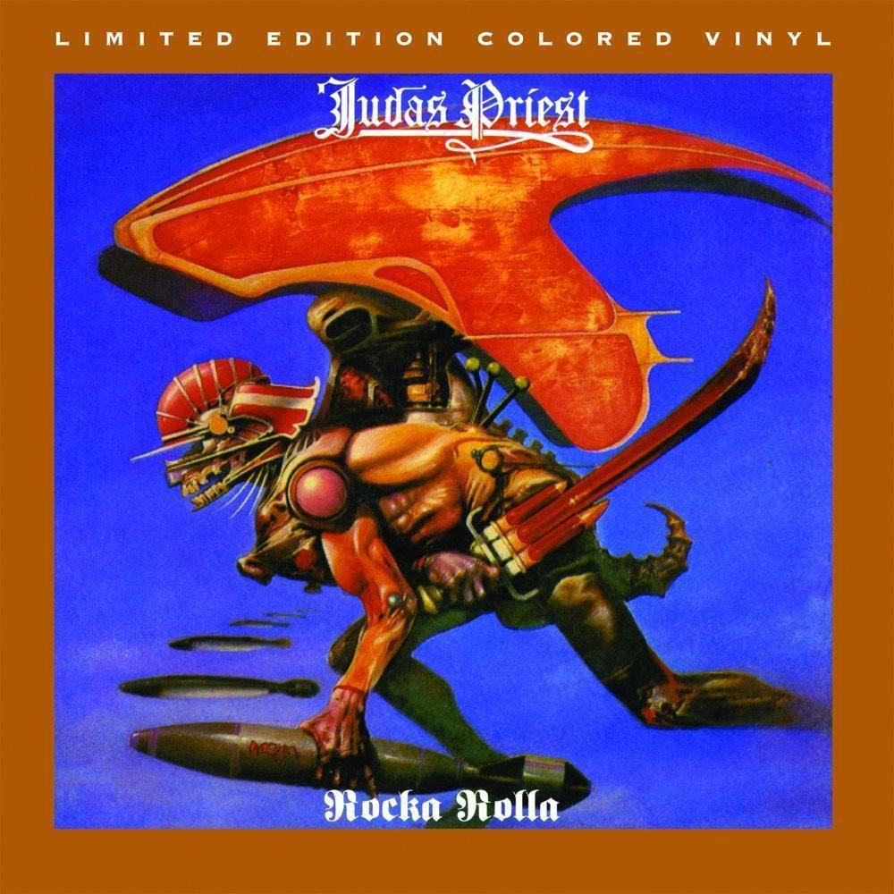 Judas Priest Rocka Rolla Translucent Grape With Opaq Vinyl