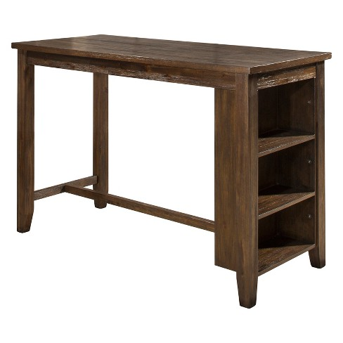 Spencer Counter Height Table Wood Dark Espresso - Hillsdale Furniture - image 1 of 4