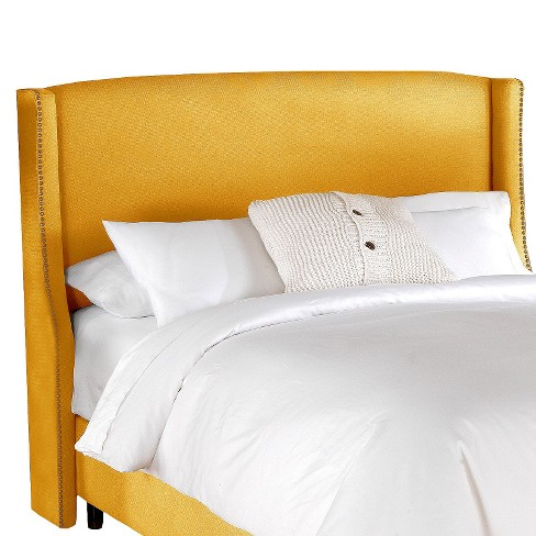 Nail Button Bed Frame