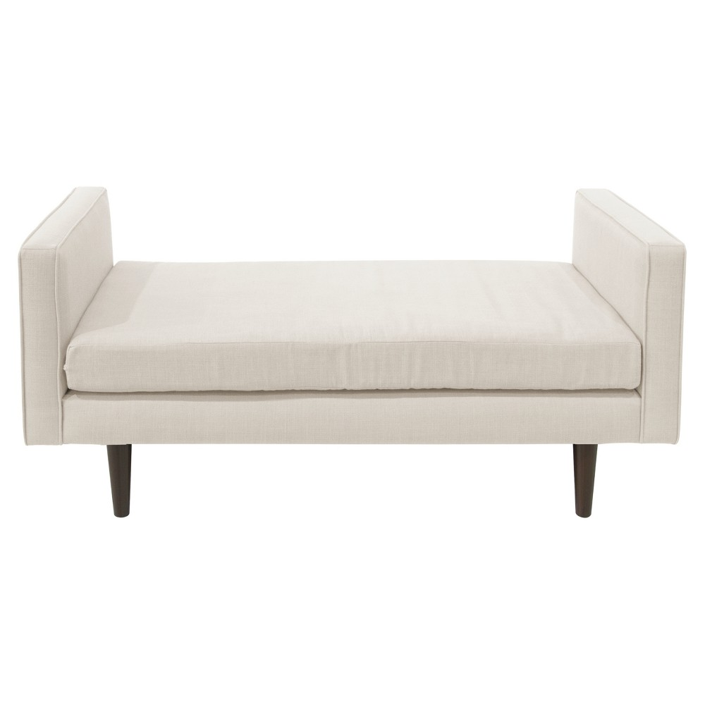 Weston Welted Daybed - Queen - Talc Linen - Cloth & Co.
