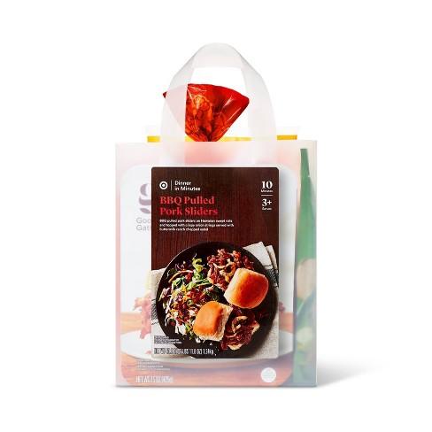 BBQ Pulled Pork Sliders Meal Bag - 48oz - image 1 of 3