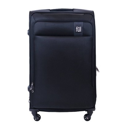 FUL 29  Flemington Softside Spinner Suitcase - Black
