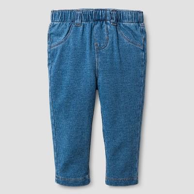 Baby Girls' Jeans Cat & Jack™ - Medium Wash 3-6M