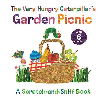 The Very Hungry Caterpillar's Garden Picnic - (World of Eric Carle)by Eric Carle (Board Book)
