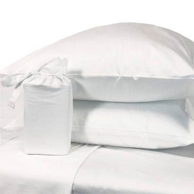 300 Thread Count Eco Melange Rayon from Bamboo Cotton Pillowcase Set - BedVoyage