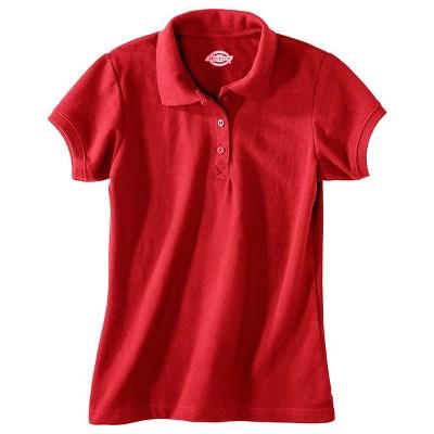 Dickies Girls' Pique Uniform Polo Shirt