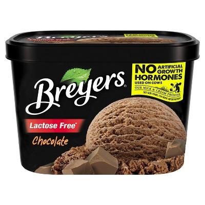 Breyers Lactose Free Chocolate Ice Cream - 48oz