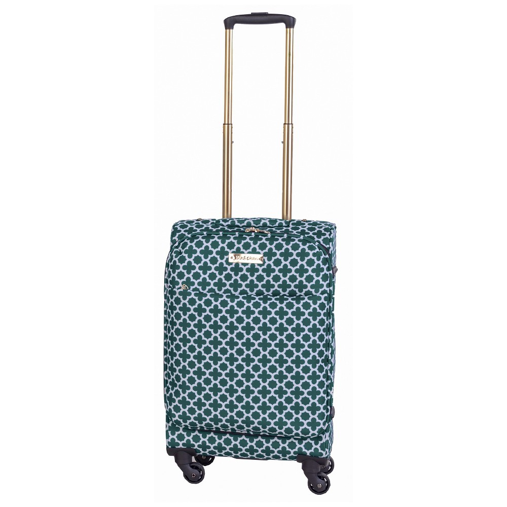 Jenni Chan Aria Broadway 20 Soft Upright Spinner Suitcase - Green, Red