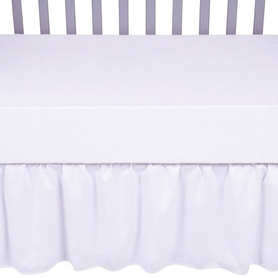 Sammy & Lou Crib Skirt - White