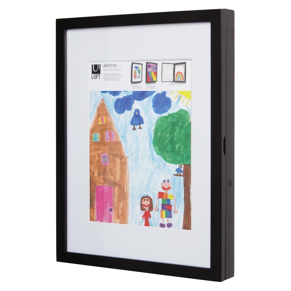 "Image of ""8.5"""" x 11"""" Loft by Umbra Kids Art Display & Storage - Black"""