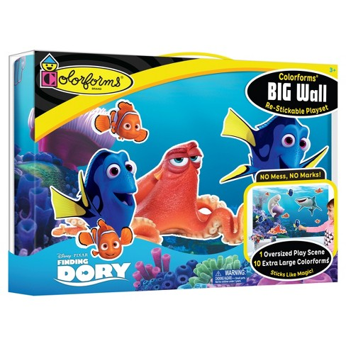 Colorforms Finding Dory Big Wall Re-Stickable Playset - image 1 of 2