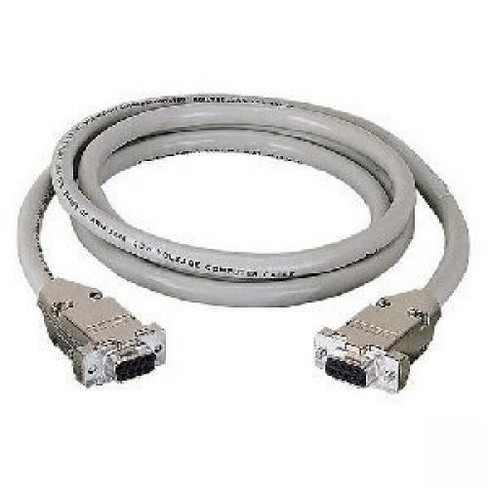 Black Box Serial Extension Cable - DB-9 Female Serial - DB-9 Female Serial - 10ft - Beige - image 1 of 1
