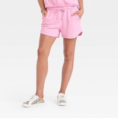 Women's Tie-Dye High-Rise Pull-On Shorts - Universal Thread™