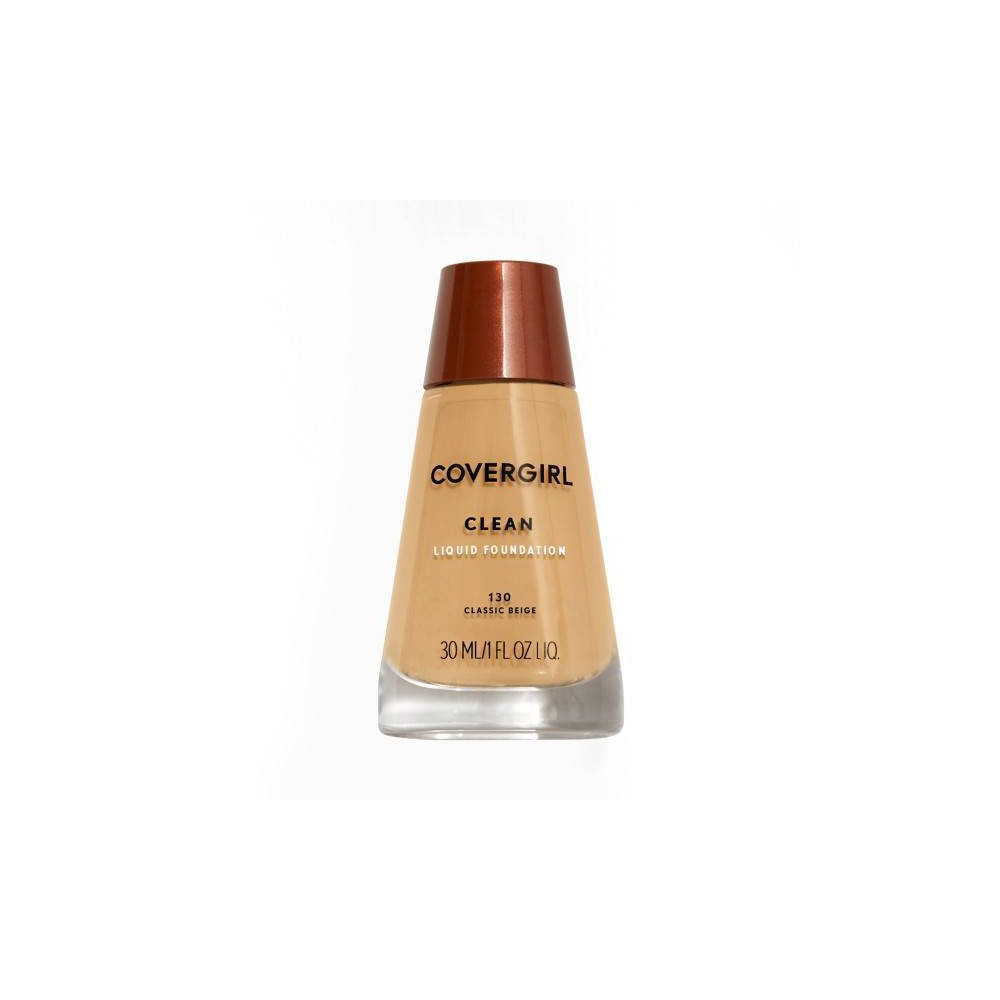Image of COVERGIRL Clean Foundation 130 Classic Beige 1 fl oz