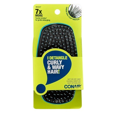 Conair No More Knots Handheld Flex Bristle Hair Brush