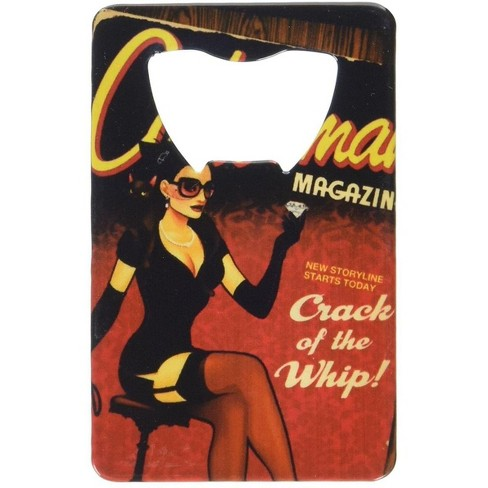 Adventure Trading Inc DC Comics Bombshells Catwoman Cover Credit Card Bottle Opener - image 1 of 2