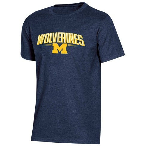 NCAA Michigan Wolverines Boys' Short Sleeve Crew Neck T-Shirt - image 1 of 2