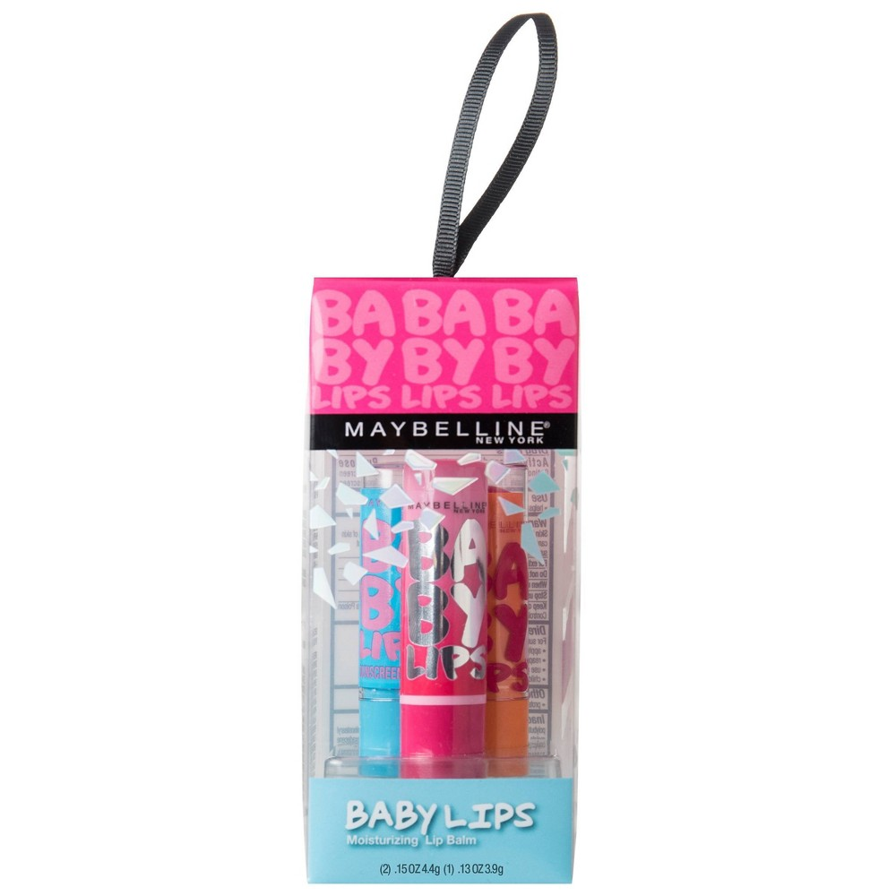 Image of Maybelline Baby Lips - 3pk