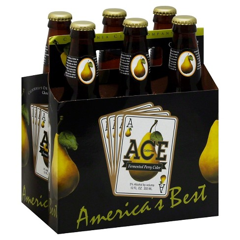 ACE® Fermented Perry Cider - 6pk / 12oz Bottles - image 1 of 1