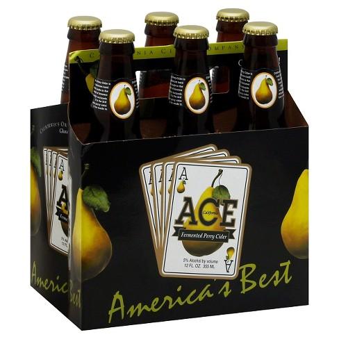 ACE Fermented Perry Cider - 6pk/12 fl oz Bottles - image 1 of 1