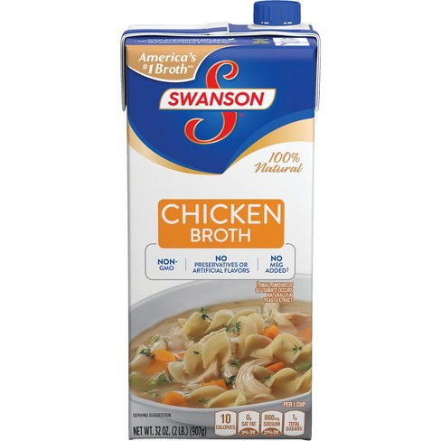 Swanson® Chicken Broth 100% Natural 32oz - image 1 of 5