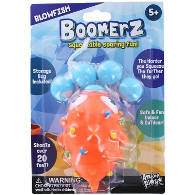 Anker Play Blowfish Boomerz Ball Shooter Popper Toy