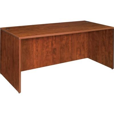 """Lorell Rectangular Desk Shell 60""""x30""""x29-1/2"""" Cherry 69409"""