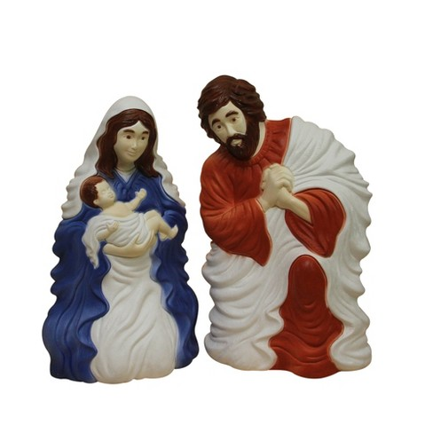 """Northlight 26.5"""" Outdoor Holy Family Lighted Nativity Set - image 1 of 3"""