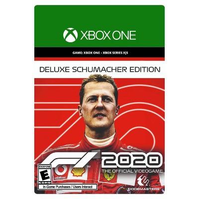 F1 2020 - Deluxe Schumacher Edition - Xbox One/Series X|S (Digital)