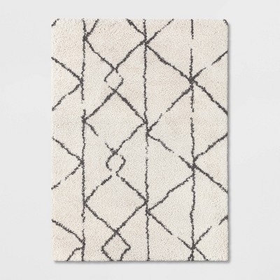 5'X7' Tribal Design Woven Area Rugs Black - Project 62™