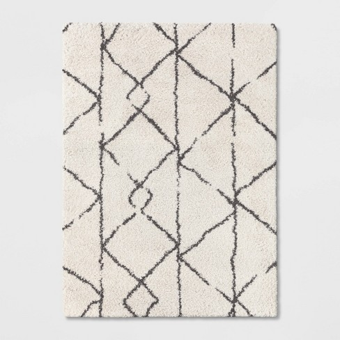 5'X7' Tribal Design Woven Area Rugs Black/White - Project 62™ - image 1 of 4