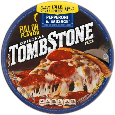 Tombstone Original Pepperoni & Sausage Frozen Pizza - 19.4oz