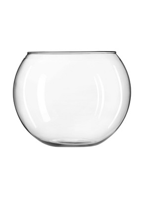 Glass Globe Vase Clear 8  - Libbey