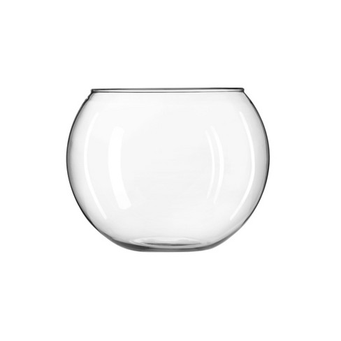 """Glass Globe Vase Clear 8"""" - Libbey - image 1 of 4"""