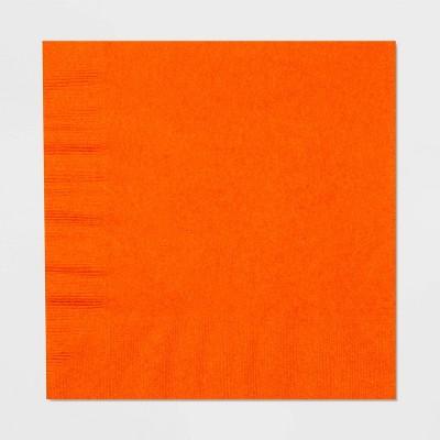 60ct Orange Disposable Halloween Lunch Napkins - Hyde & EEK! Boutique™