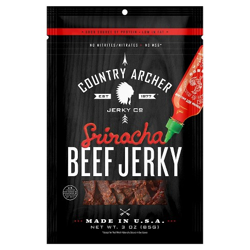 Country Archer Sriracha Beef Jerky - 3 oz - image 1 of 1