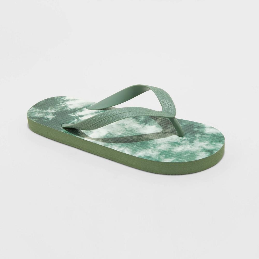 Kids 39 Sam Slip On Flip Flop Sandals Cat 38 Jack 8482 Green L