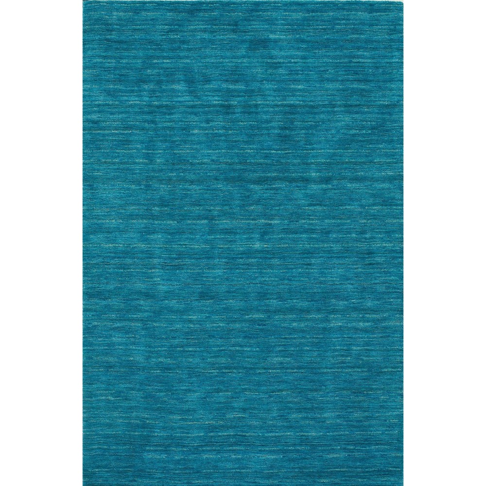3 6 X5 6 Tonal Solid 100 Wool Accent Rug Cobalt Addison Rugs