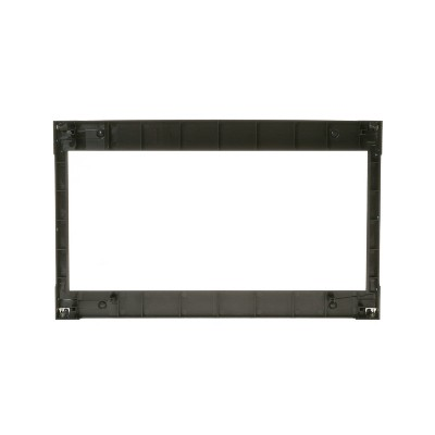 GE JX827SFSS 27 Inch Stainless Steel Deluxe Countertop Microwave Trim Oven Kit (Certified Refurbished)