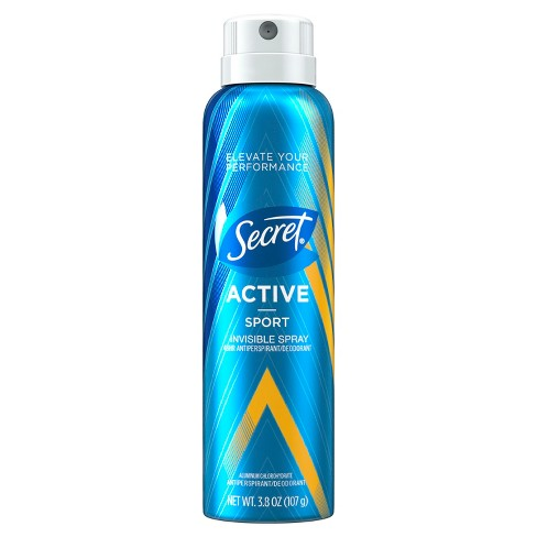 Secret Active Sport Invisible Spray Antiperspirant and Deodorant - 3.8oz - image 1 of 2