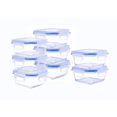 Kinetic Go Green Elements Square Food Storage Container Set - 10oz