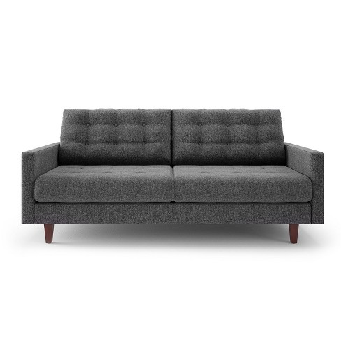 Sandy Modern Tufted Back Sofa - Charcoal - Aeon - image 1 of 3