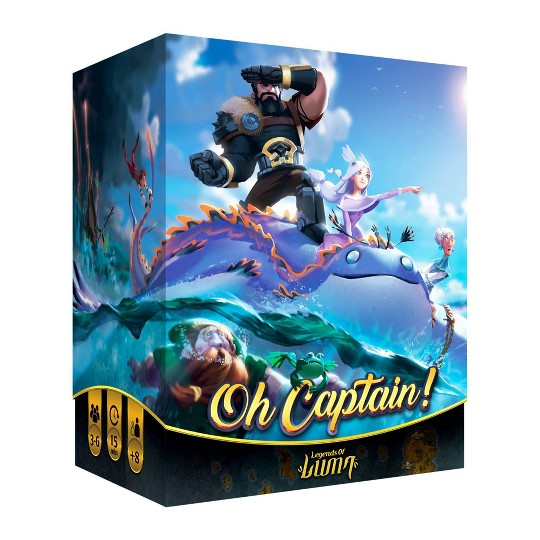 Ludonaut Oh Captain! Board Game image number null