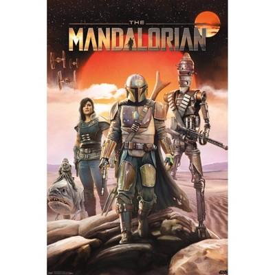Star Wars: The Mandalorian - Group Premium Poster