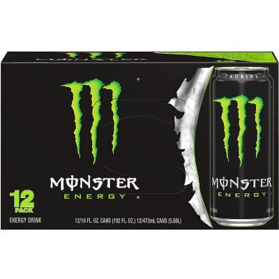 Monster Energy Original - 12pk/16 fl oz Cans