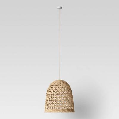 Large Seagrass Light Pendant Light Brown (Includes Energy Efficient Light Bulb)- Opalhouse™