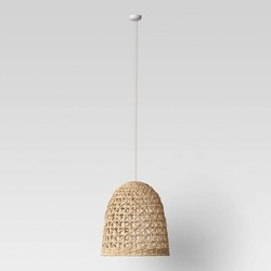 Large Seagrass Light Pendant Light Brown (Includes Energy Efficient Light Bulb) - Opalhouse™