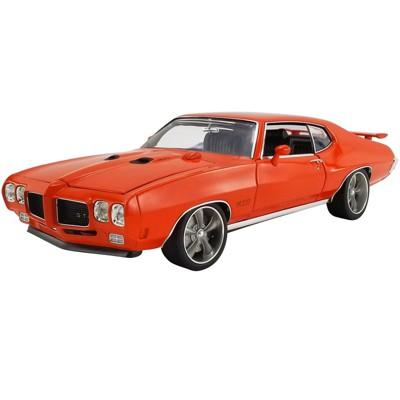 "1970 Pontiac GTO Street Fighter Carousel Red ""The Prosecutor"" 1/18 Diecast Model Car by ACME"