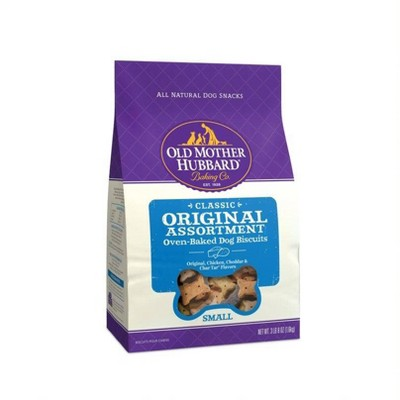 Old Mother Hubbard Classic Crunchy Original Assortment Biscuits Small Oven Baked Dog Treats - 3lb. 8oz
