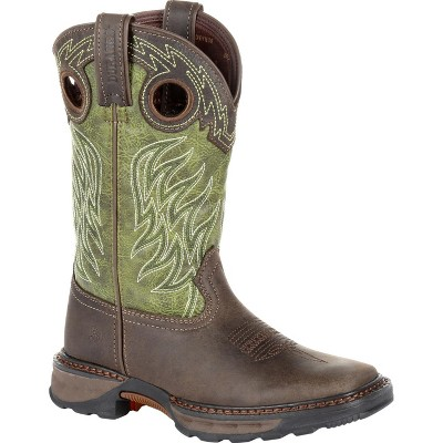 Lil' Durango Maverick XP Toddler Boys' Green Western Work Boot